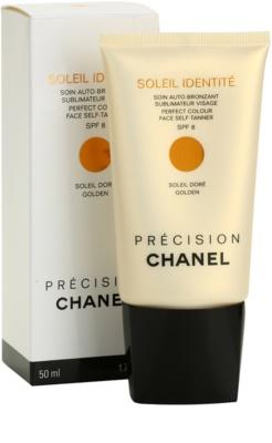 Chanel Précision Soleil Identité samoopalovací krém na obličej SPF 8 1
