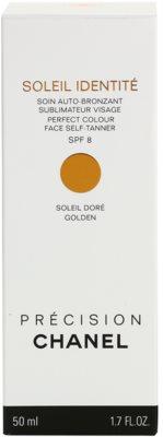 Chanel Précision Soleil Identité samoopalovací krém na obličej SPF 8 3