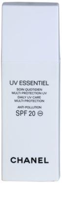 Chanel UV Essentiel opalovací mléko na obličej SPF 20