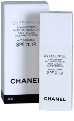Chanel UV Essentiel opalovací mléko na obličej SPF 20 1