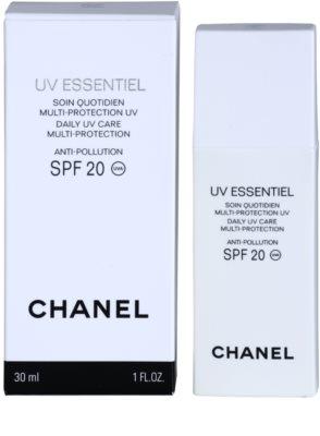Chanel UV Essentiel opalovací mléko na obličej SPF 20 2