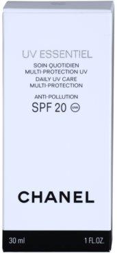 Chanel UV Essentiel opalovací mléko na obličej SPF 20 3