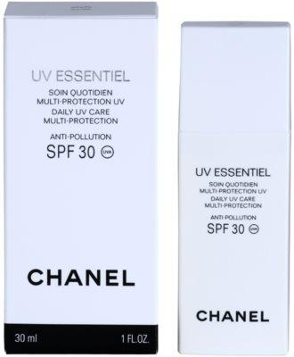 Chanel UV Essentiel opalovací mléko na obličej SPF 30 2