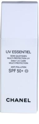Chanel UV Essentiel loción solar facial   SPF 50+