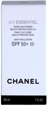 Chanel UV Essentiel mleczko do opalania twarzy SPF 50+ 3