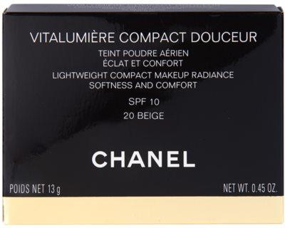 Chanel Vitalumiére Compact Douceur aufhellendes Kompakt - Make-up SPF 10 2