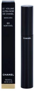 Chanel Le Volume De Chanel tusz do rzęs nadający maksymalną objętość super czarna 2