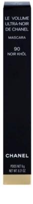 Chanel Le Volume De Chanel tusz do rzęs nadający maksymalną objętość super czarna 3