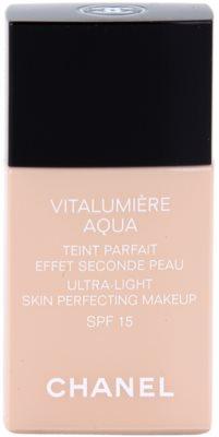 Chanel Vitalumiére Aqua maquillaje ultra ligero para lucir una piel radiante