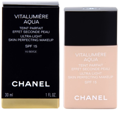Chanel Vitalumiére Aqua ultra lehký make-up pro zářivý vzhled pleti 1