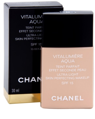Chanel Vitalumiére Aqua ultra lehký make-up pro zářivý vzhled pleti 2