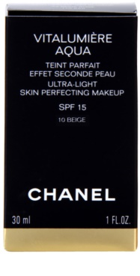 Chanel Vitalumiére Aqua ultraleichtes Make-up für ein strahlendes Aussehen der Haut 3
