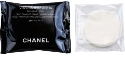 Chanel Vitalumiére Aqua hidratáló krémes make-up utántöltő
