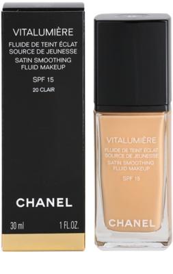 Chanel Vitalumiere base líquida 3