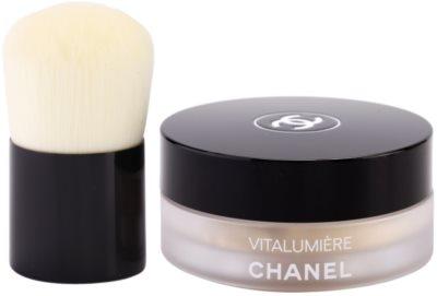 Chanel Vitalumiere polvos sueltos con cepillo