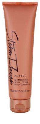 Cheryl Cole Storm Flower leite corporal para mulheres