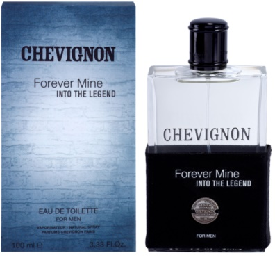 Chevignon Forever Mine Into The Legend eau de toilette férfiaknak