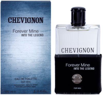 Chevignon Forever Mine Into The Legend Eau de Toilette para homens