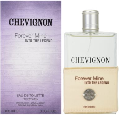 Chevignon Forever Mine Into The Legend Eau de Toilette para mulheres
