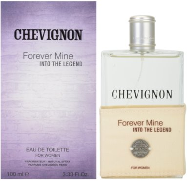 Chevignon Forever Mine Into The Legend Eau de Toilette pentru femei