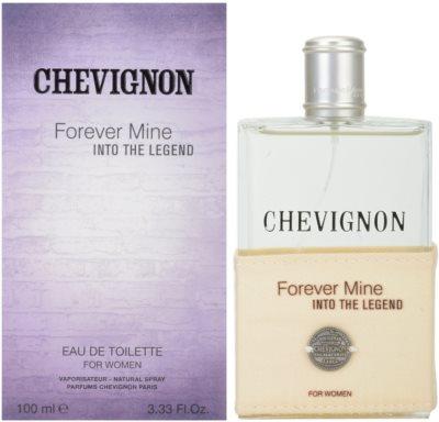 Chevignon Forever Mine Into The Legend toaletna voda za ženske