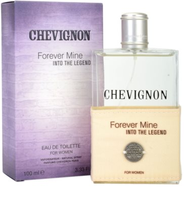 Chevignon Forever Mine Into The Legend Eau de Toilette para mulheres 1