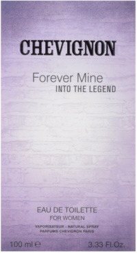 Chevignon Forever Mine Into The Legend Eau de Toilette para mulheres 4