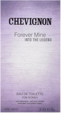 Chevignon Forever Mine Into The Legend Eau de Toilette pentru femei 4