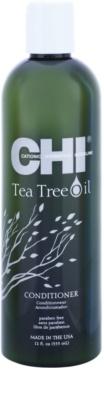 CHI Tea Tree Oil odżywka odświeżająca do przetłuszczających się włosów i skóry głowy