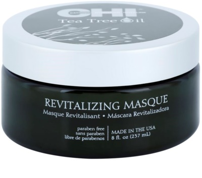 CHI Tea Tree Oil mascarilla revitalizante con efecto humectante