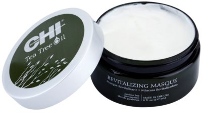 CHI Tea Tree Oil mascarilla revitalizante con efecto humectante 1