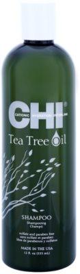 CHI Tea Tree Oil champô para cabelo e couro cabeludo oleosos