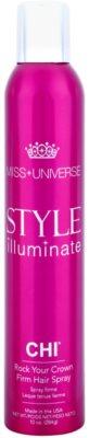 CHI Style Illuminate Miss Universe gyorsan száradó spray a hajformázáshoz erős fixálás