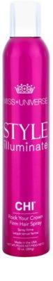 CHI Style Illuminate Miss Universe Schnelltrocknendes Spray für das Endstyling starke Fixierung