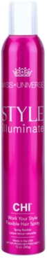 CHI Style Illuminate Miss Universe швидковисихаючий спрей для фіксації волосся гнучка фіксація