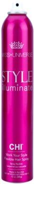 CHI Style Illuminate Miss Universe Schnelltrocknendes Spray für das Endstyling flexible Festigung 1