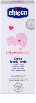 Chicco Baby Moments Care Védőkrém a szél és a hideg ellen gyermekeknek születéstől kezdődően 2