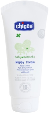 Chicco Baby Moments Care lotiune de corp pentru copii crema-tratament impotriva iritatiilor provocate de scutece