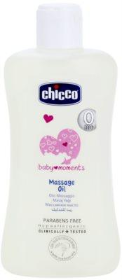 Chicco Baby Moments Care масажно олио за деца от раждането им