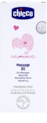 Chicco Baby Moments Care masážny olej pre deti od narodenia 2