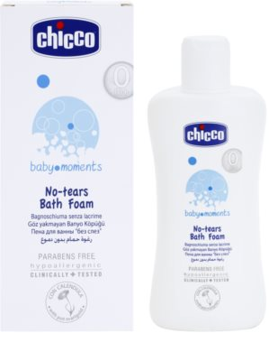 Chicco Baby Moments Wash espuma de baño para bebé lactante 1