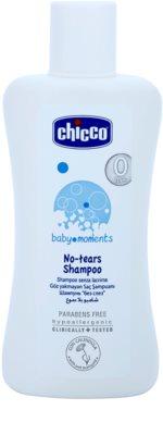 Chicco Baby Moments Wash Shampoo für Kinder ab der Geburt
