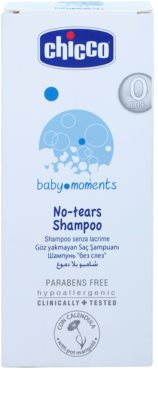 Chicco Baby Moments Wash champô para bebés 0+ 2