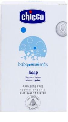 Chicco Baby Moments Wash Seife für Kinder ab der Geburt 2