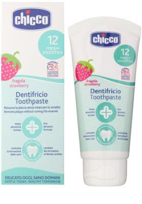 Chicco Oral Care pasta de dientes para niños 12m+ 1