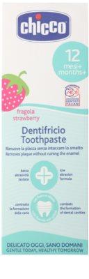 Chicco Oral Care pasta de dientes para niños 12m+ 2