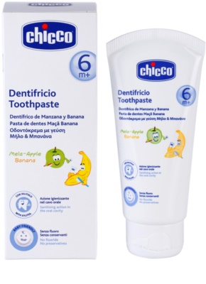 Chicco Oral Care зубна паста для дітей 6м+ 1