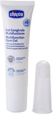 Chicco Oral Care Zahnfleischgel mit Massagebürste 4m+