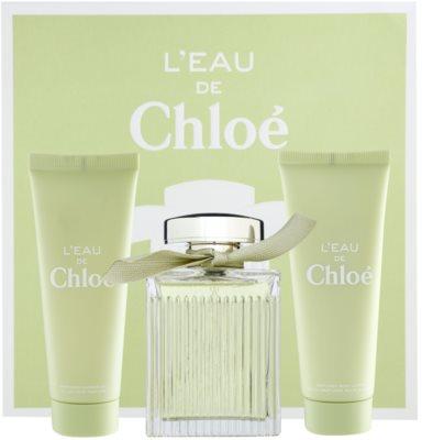 Chloé L´Eau De Chloé coffret presente