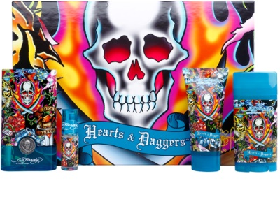 Christian Audigier Ed Hardy Hearts & Daggers for Him Geschenkset